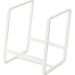 Dish Drainer Metal Dish Drying Rack Dinner Plates Rack Stand Holder White