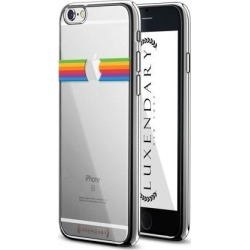 LUXENDARY APPLE RAINBOW DESIGN CHROME SERIES CASE FOR IPHONE 6/6S PLUS
