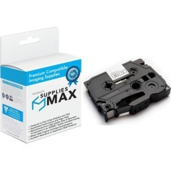 SuppliesMAX Compatible Replacement for Brother Black on Clear Laminated P-Touch Label Tape (1/2in X 26Ft.) (TZ-131) found on Bargain Bro India from Newegg Business for $7.99