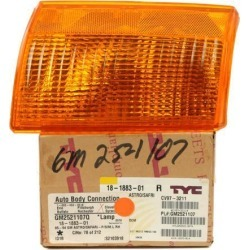 1985-1994 GMC Safari NEW Front Park Lamp Turn Signal Beside Head Light 5974422 found on Bargain Bro Philippines from Newegg Business for $55.00