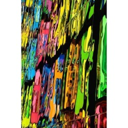 Posterazzi DPI1852363 Reflection of Colors Poster Print, 12 x 19