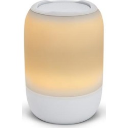 iHome Portable Sound & Light Meditation Therapy Bluetooth Speaker White Speakers and Alarm Clocks