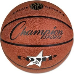 Composite Basketball, Official Intermediate, 29', Brown