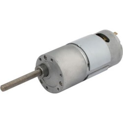 DC 24V 12RPM Speed Reduction Gear Box Motor Electric Gearbox