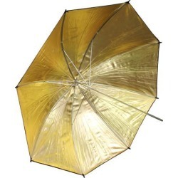 33'/83cm Gold Black Reflector Soft Umbrella Diffuser Photo Flash Lighting Studio