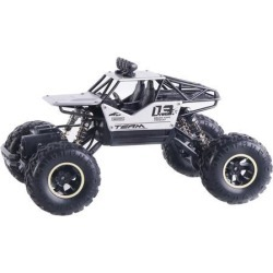 1pc 1:16 RC Alloy Climbing Car 15km/h w/ Battery RC Toy Gifts for Adults silver