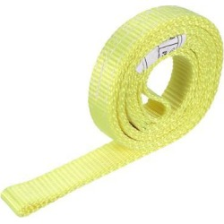 3 feet Lifting Straps 2200 lbs Lift Sling Tow Rope 1-Ply Endless Webbing Sling