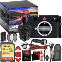 Leica M (Typ 262) Digital Rangefinder Camera - Master Landscape Photographer Kit - Memory Card - Accessories with Leica 18mm f/3.8 Lens (11649)