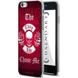 LUXENDARY THE THUG LIFE CHOSE ME DESIGN CHROME SERIES CASE FOR IPHONE 6/6S