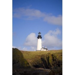 Posterazzi DPI1831357LARGE Lighthouse Oregon United States of America Poster Print by Craig Tuttle, 22 x 34 - Large