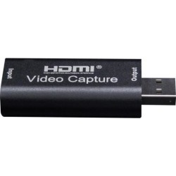 Mini 4K 1080P HDMI To USB 2.0 Video Capture Card Game Recording Box for Computer Youtube OBS Etc. Live Streaming Broadcast Video