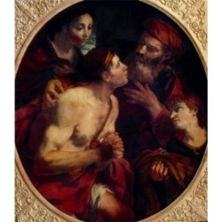 Posterazzi SAL9003376 The Return of the Prodigal Son by Johann Carl Carlotto Loth 1632-1698 Poster Print - 18 x 24 in. found on Bargain Bro India from Newegg Canada for $52.03