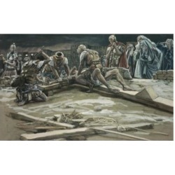 Posterazzi SAL9999292 The First Nail James Tissot 1836-1902 French Poster Print - 18 x 24 in.