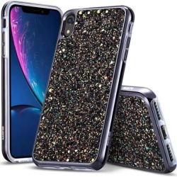 ESR iPhone XR Case, ESR Glitter Hard Case with Dual-Layer Structure [Hard PC Back Exterior + Soft TPU Interior] Compatible with 6.1 inch iPhone XR.