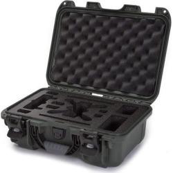 Nanuk 915 Waterproof Hard Drone Case with Custom Foam Insert for DJI Spark Flymore - Olive