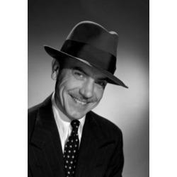 Posterazzi SAL25512550 Studio Portrait of Mature Man in Hat Poster Print - 18 x 24 in.