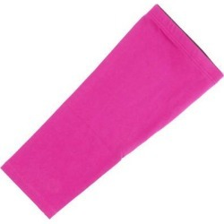 Adult Basketball Cycling Running Outdoor Exercise Sports Leg Sleeve Fuchsia M