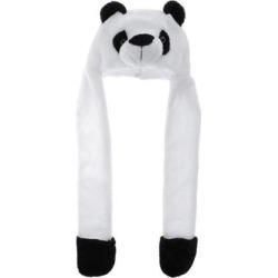Cartoon Kids Adults Winter Fuzzy Animal Hat Scarf Gloves Panda