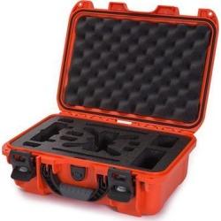 Nanuk 915 Waterproof Hard Drone Case with Custom Foam Insert for DJI Spark Flymore - Orange