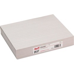 Pacon 2637 Skip-A-Line Newsprint Practice Paper 500 Sheet - 30lb - Ruled - Letter 8.5' x 11' - 500 / Ream - White