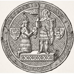 Posterazzi DPI1856386 Seal of The University of Prague From Science & Literature In The Middle Ages Poster Print, 14 x 14