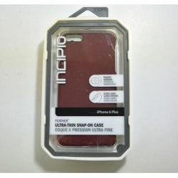 New OEM Incipio Feather Maroon Case For iPhone 6 Plus/6s Plus