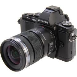 OLYMPUS E-M5 V204045BU000 Black Micro Four Thirds interchangeable lens system camera with M.Zuiko Digital ED 12-50mm EZ