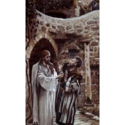 Posterazzi SAL9999128 Dumb Man Possessed of a Devil James Tissot 1836-1902 French Poster Print - 18 x 24 in.