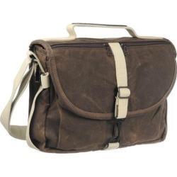 Domke F-803 Waxwear Camera Satchel Shoulder Bag (Brown)