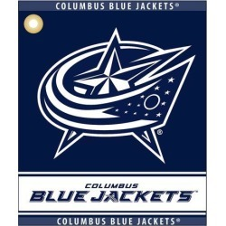 Team Golf 13780 Columbus Blue Jackets NHL Woven Team Logo Golf Towel