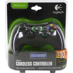 Logitech Cordless Wireless Controller Game Pad for Xbox