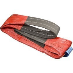 "Lift Strap 5""x 6.6' Web Lifting Straps 11023lbs Capacity for Construction Rigging Moving Towing Hoisting Work Gear Red"