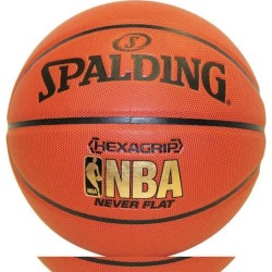 Spalding Nba Hexagrip Neverflat Basketball