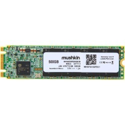 Mushkin Enhanced Source M.2 2280 500GB SATA III 3D TLC Internal Solid State Drive (SSD) MKNSSDSR500GB-D8