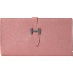 PU Wallet can hold 6 inch phones (Pink)