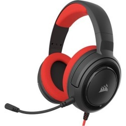 Corsair HS35 STEREO Gaming Headset, Red