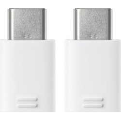 Samsung USB Type-C to Micro USB Adapter - White (2 Pack) USB Type-C to Micro USB Adapter