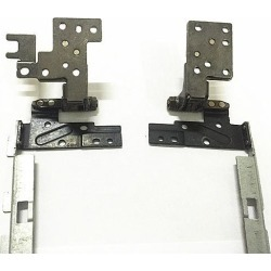 laptop LCD/LED L & R hinges for Dell Latitude E5440 E5440T VAW30 AM0WQ000400 AM0WQ000500 Notebook Touch LCD Screen Axis