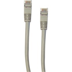 Cable Wholesale CAT5E STP Snagless/Molded Boot Ethernet Cable 50 foot - Grey