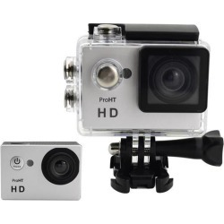 ProHT HD Action Camera, 2.0 LTPS LCD Screen, 720P, 90 Degree Wide Angle Lens, Waterproof, Sports Camera, 86304