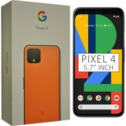 Google Pixel 4 G020M 64GB 5.7 inch Android (GSM Only, No CDMA) Factory Unlocked 4G/LTE Smartphone - Oh So Orange