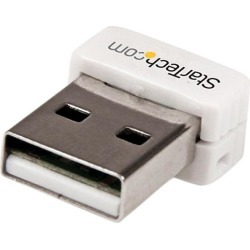 StarTech USB150WN1X1W USB 150 Mbps Mini Wireless N Network Adapter - 802.11n/g 1T1R USB W-iFi Adapter - White found on Bargain Bro India from Newegg Business for $18.45