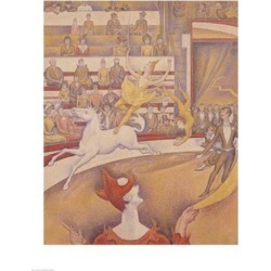 Posterazzi BALXIR21625LARGE The Circus 1891 Poster Print by Georges Seurat - 24 x 36 in. - Large
