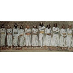 Posterazzi SAL999312 The Choristers James Tissot 1836-1902 French Jewish Museum New York City Poster Print - 18 x 24 in.