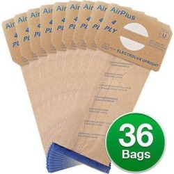 Replacement Vacuum Bag for Electrolux 43712E / 138FP (3-Pack) Vacuum Bag
