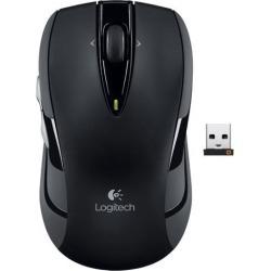 Logitech Wireless Mouse M545(M525 Upgrade) 2.4GHz 4 Buttons Tilt Wheel USB RF Wireless Optical Mouse-Black