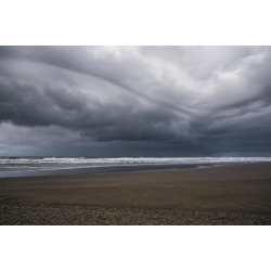 Posterazzi DPI12276163 Storm Clouds Loom Over The Beach - Seaside Oregon United States of America Poster Print - 19 x 12 in.