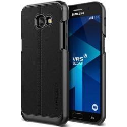 VRS Design [Simpli Mod] Slim Leather Protective Case for Samsung Galaxy A5 - Black