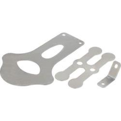 105mm Length Cast Steel Air Compressor Valve Plate Fitting Set 3 in 1