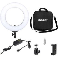 14' LED Photography Ring Light Dimmable 5500K Lighting Photo Video Stand Kit